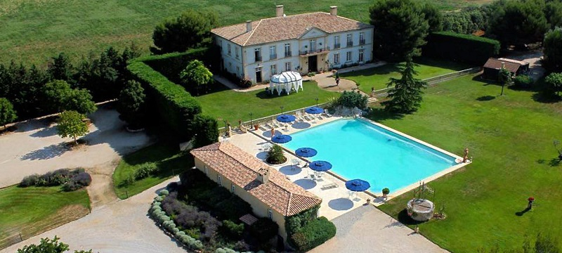 Wedding venue in provence bastide d'astres